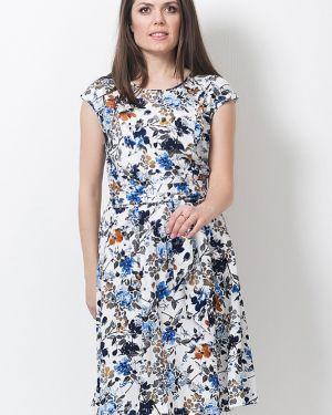 Платье с поясом из штапеля платье-сарафан Modellos