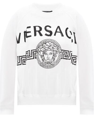 Z rękawami bluzka Versace