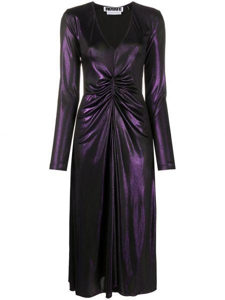 Платье с V-образным вырезом со складками Rotate