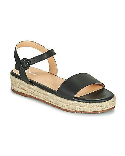 Czarne sandały Jonak