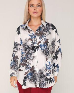 Блузка оверсайз прямая Ellcora
