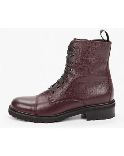 Красные кожаные ботинки Mascotte