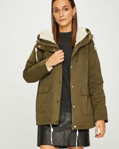 Куртка с капюшоном с карманами утепленная Review
