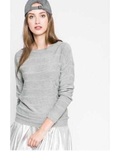 Серый свитер в полоску Jacqueline De Yong