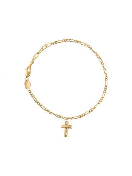 Złota bransoletka ze złota Northskull