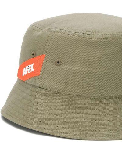 Zielony kapelusz bawełniany Affix