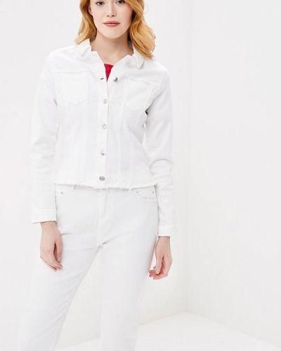 Белая джинсовая куртка S.oliver