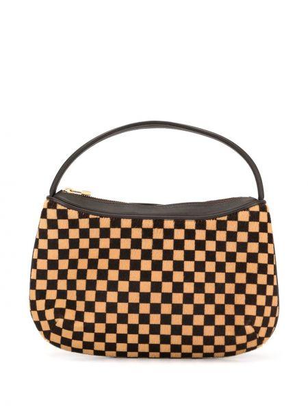 Skórzana torebka mini z nadrukiem Louis Vuitton Pre-owned
