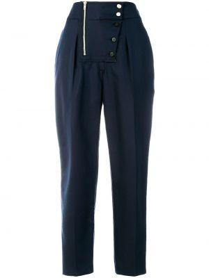 Укороченные брюки синие Calvin Klein 205w39nyc