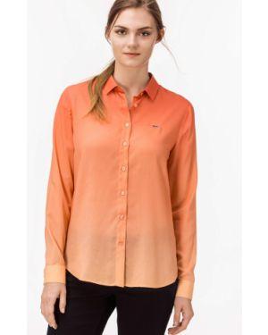 Рубашка персиковый Lacoste