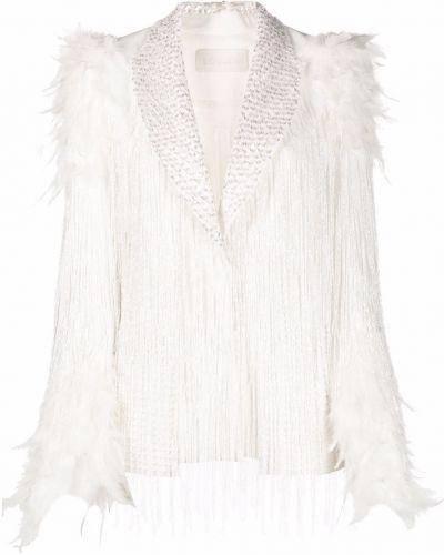 Белый однобортный пиджак Loulou