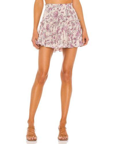 Шифоновая юбка с подкладкой Misa Los Angeles