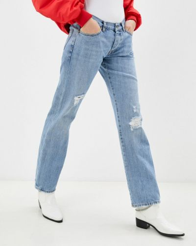 Прямые джинсы Please