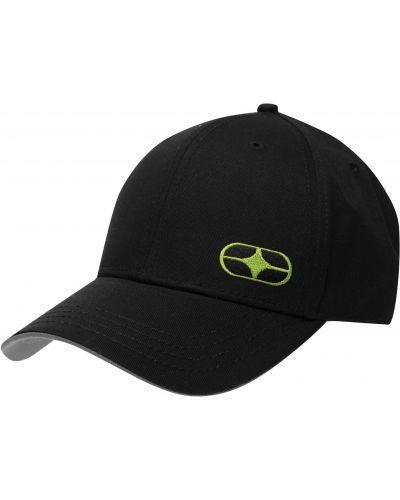 Czarna czapka z haftem No Fear