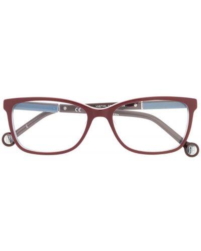 Фиолетовые очки прямоугольные Ch Carolina Herrera