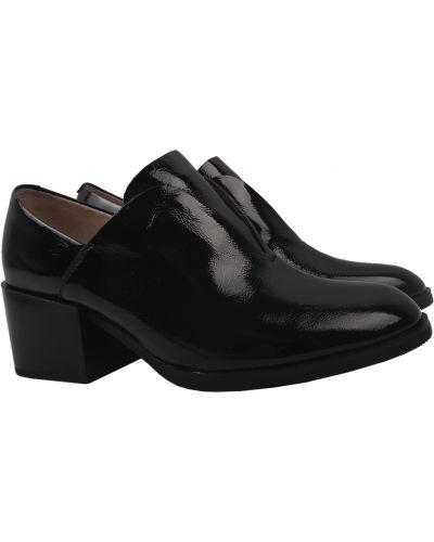 Кожаные туфли - черные Lady Marcia