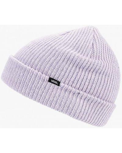 Фиолетовая шапка осенняя Vans