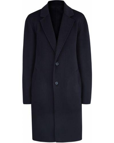Длинное пальто кашемировое шерстяное Kenzo