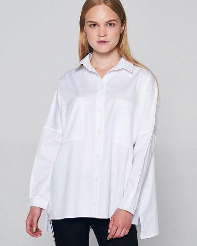 Рубашка с длинным рукавом белая Lavlan