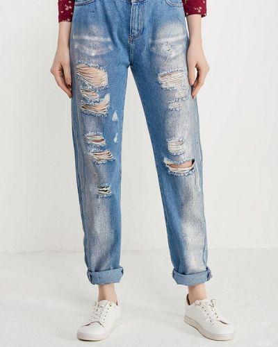 Голубые джинсы рваные Ovs