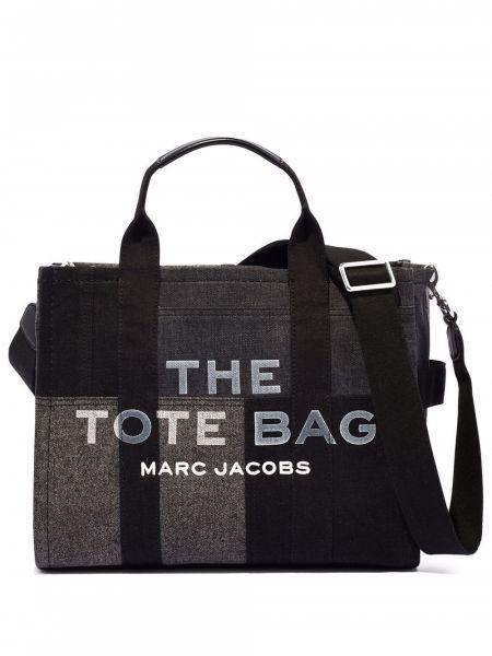 Серая джинсовая косметичка Marc Jacobs