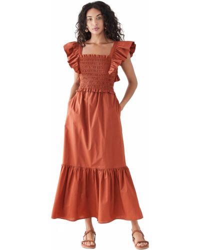 Платье с короткими рукавами с декольте квадратное Sea