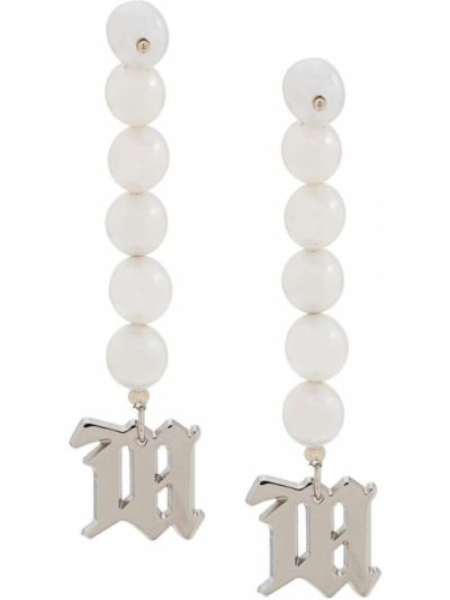 Kolczyki sztyfty perły srebrne Misbhv