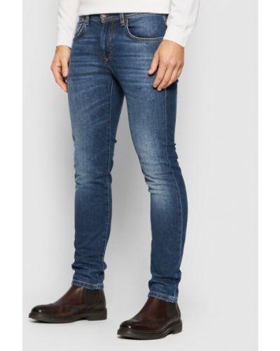 Niebieskie mom jeans Baldessarini