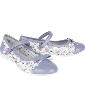 Туфли фиолетовый белые котофей