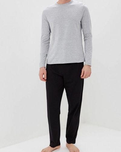 Пижама черный серый Burton Menswear London