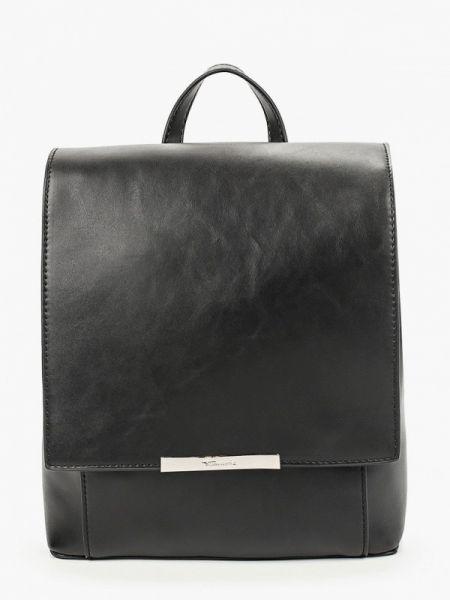 Рюкзак черный из искусственной кожи Tamaris