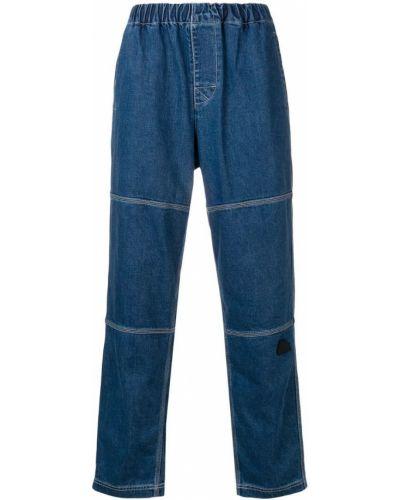 Прямые брюки с поясом новогодние Cav Empt