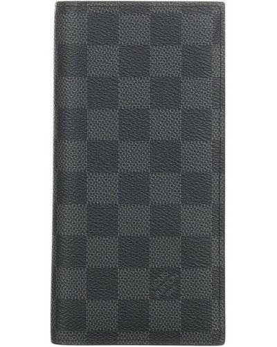 Czarny portfel Louis Vuitton Vintage