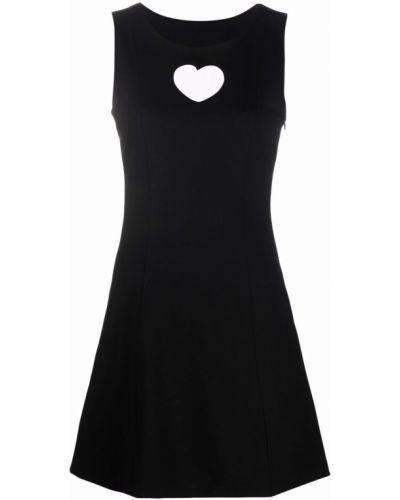 Платье без рукавов - черное Paskal