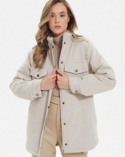 Утепленная куртка - бежевая Madlen