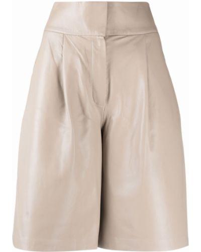 Кожаные шорты Federica Tosi