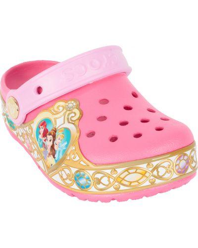 Сабо летний розовый Crocs