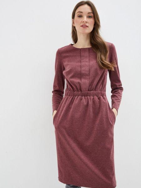Бордовое платье Am One