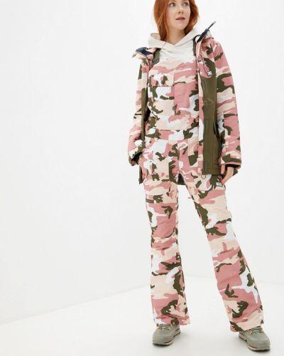Горнолыжные брюки - розовые Dc Shoes