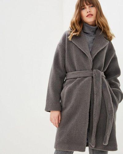 Пальто демисезонное серое Fashion.love.story