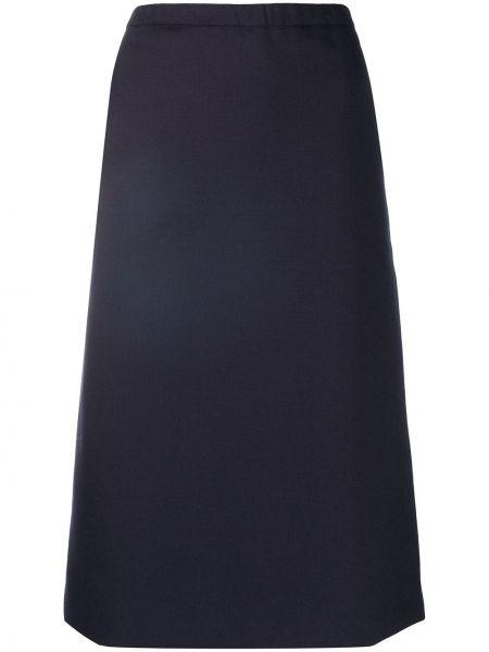 Шерстяная юбка с поясом Ports 1961