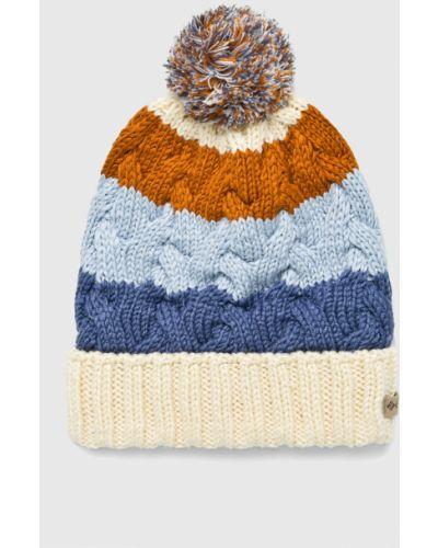 Зимняя шапка с отворотом с помпоном Columbia