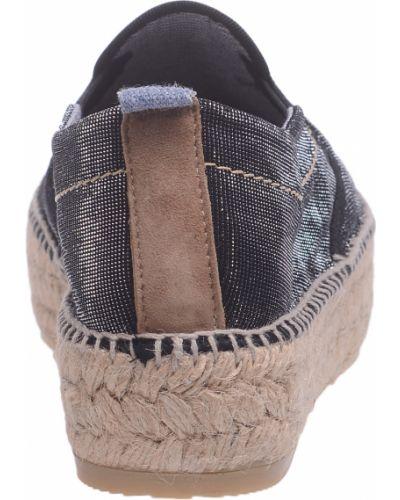 Черные эспадрильи Trussardi Jeans