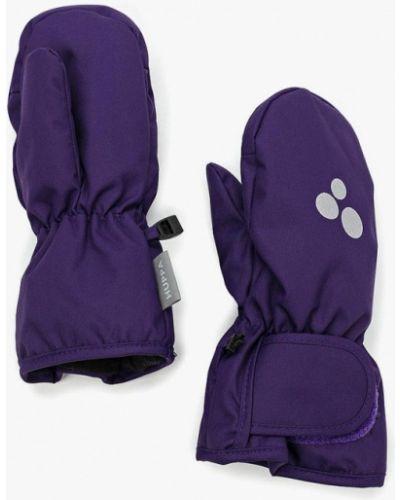 Фиолетовые варежки Huppa