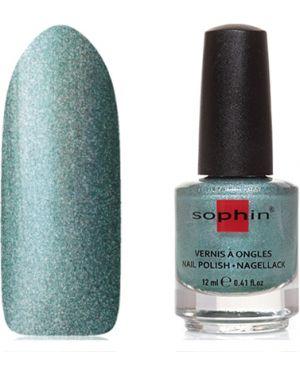 Зеленый лак для ногтей Sophin