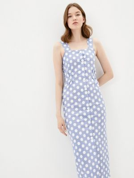Платье - голубое Solou