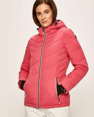 Розовая куртка с капюшоном с запахом Killtec