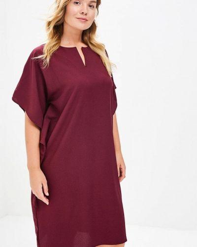 Платье весеннее красный Sparada