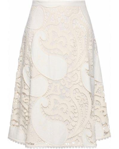 Кружевная юбка - белая See By Chloé