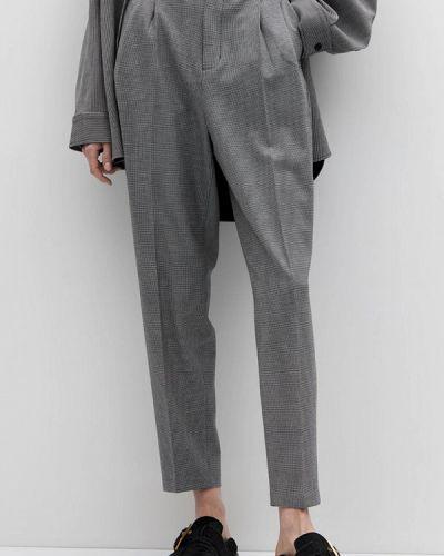 Повседневные серые брюки Lime